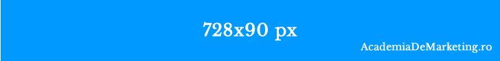 dimensiune banner leaderboard 728x90
